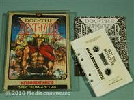 ZX SPECTRUM game - Doc the Destroyer by Melbourne House