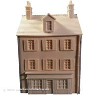 CASA CON NEGOZIO PAESE EUROPEO SCALA 1/72  20mm COUNTRY SHOP HOUSE